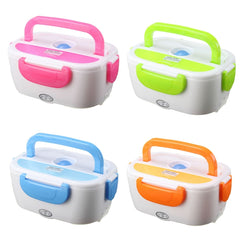1.05L 12V Portable Car Electric Heating Insulation Lunch Boxes Food Warmer Container