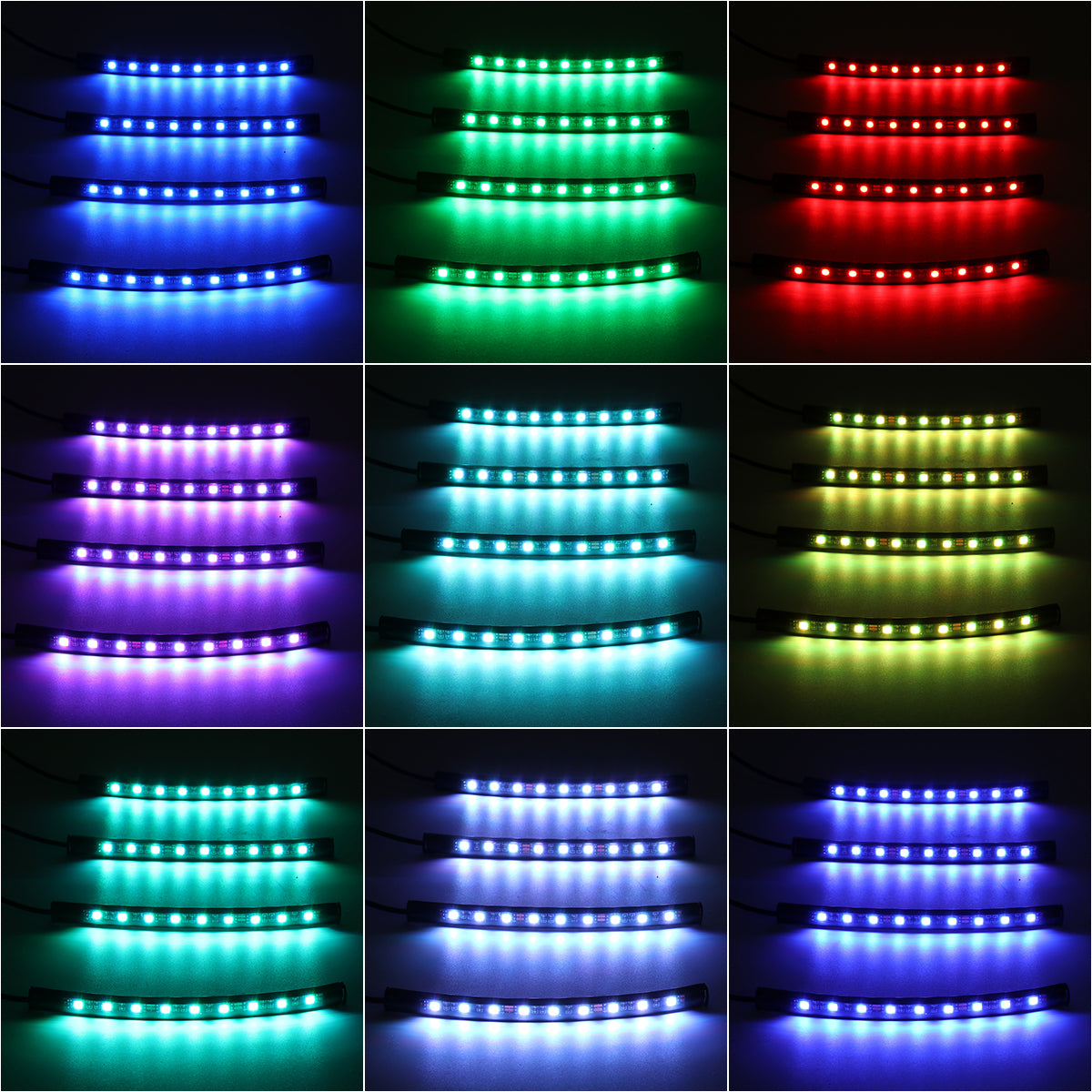 A769 New MB Unisex Women Men Flashing Plastic Glow LED Light Up Shades Glasses G