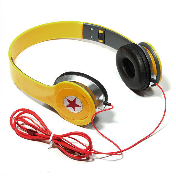 Comfortable Adjustable Stereo 3.5mm Headphone for PC MP3 MP4 MP5