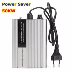 Silver 50KW Power Energy Saver Saving Box Electricity Bill Killer Up to 35%