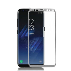 3D Arc Edge 0.26mm Tempered Glass Silk-Screen Rim Screen Protector for Samsung Galaxy S8 & S8 Plus