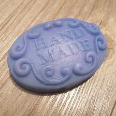 Handmade Word Silicone Soap Mold Fondant Chocolate Mold