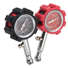 0-100 PSI Tyre Tire Air Pressure Gauge Meter Tester Car Truck Motorcycle Bike