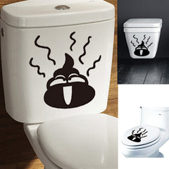 DIY Toilet Sticker Removable Closestool Sticker Bathroom Decoration