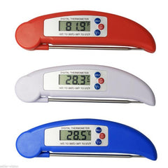 BBQ Digital Folding Probe Thermometer Food Temperature Sensor Household Thermometer Kitchen Tools