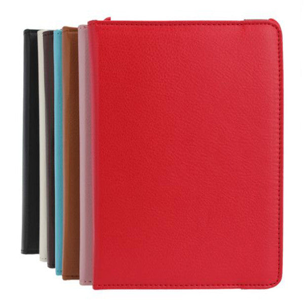 Litchi Pattern 360 Degrees Rotating Stand Leather Case For iPad Mini