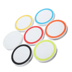 Q5 Wireless Charger Pad Qi Standard Transmitter White Chassis For Phone