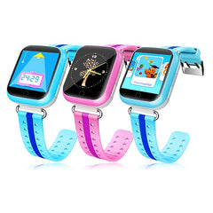 Q100 GPS Smart Wifi Children Watch with 1.54 inch Touch Screen SOS Call Location Device Tracker Safe