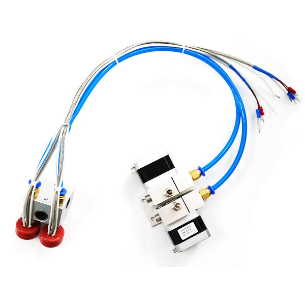 3D Printer Extruder Double Nozzle 12V 24V Print Head Distal Thermocouple