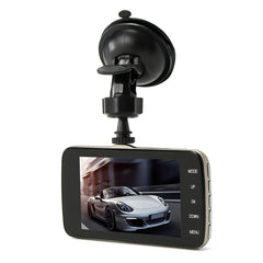 4 Inch Car Dash Cam 1080P Car Dual Lens Rear View DVR Car Recorder IR Night Vision
