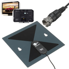 X-71 HD Digital Indoor HDTV TV Amplified Antenna Signal Receiver DTV HD VHF UHF