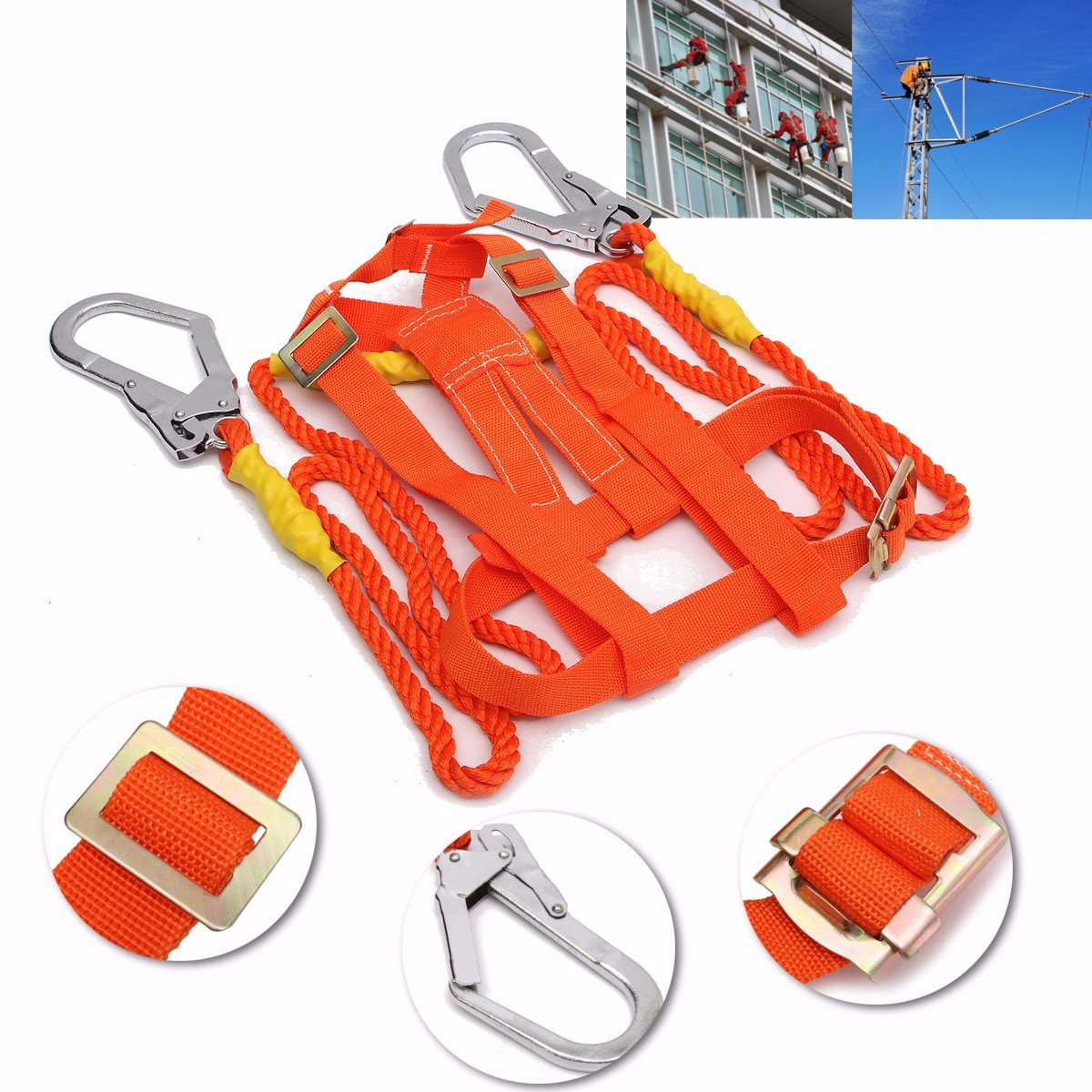 Outdoor Climbing Climb Mountain Rope Safety Waist Belt Protection Equipment