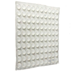 100Pcs Self Adhesive Silicone Feet Buffer Bumpers Door Cupboard Drawer Cabinet Furniture Sticker