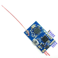 DasMikro FUTABA SFHSS 8CH 2.4Ghz RC Micro Receiver With PPM Output
