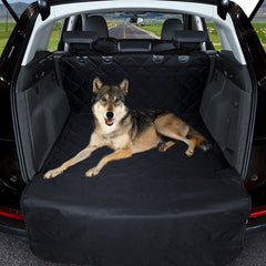 Car Quilted Washable Pet Seat Cover Cargo Cover for SUV