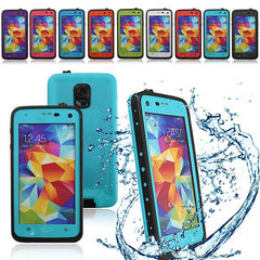 Durable Dots Water/Shock/Dirtproof Case For Samsung Galaxy S5 i9600
