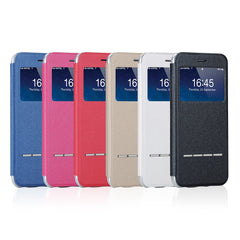 Slim View Case (voor Iphone en Samsung, 8 kleuren)