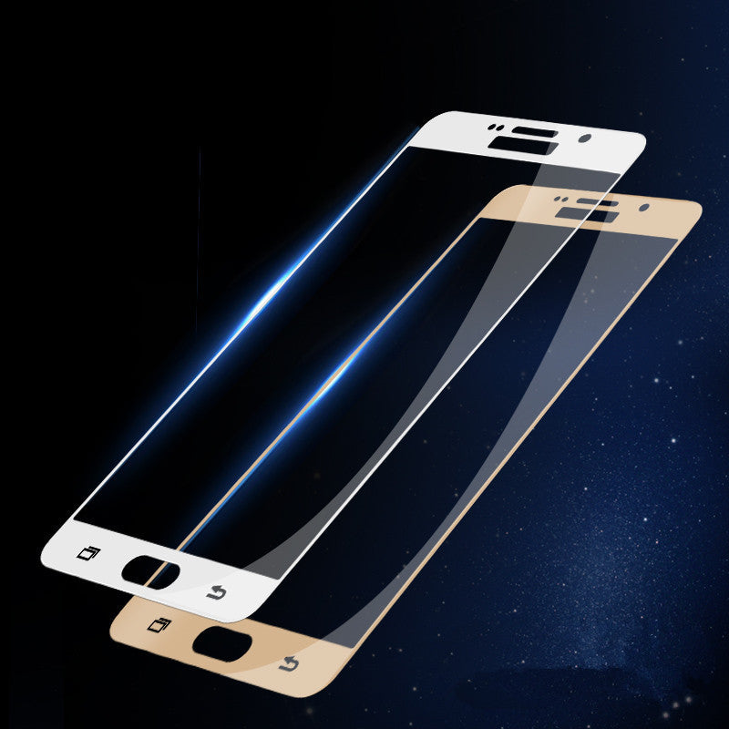 3D Full Screen Cover Tempered Glass voor Samsung Galaxy A5-A7