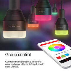 Bluetooth Smart Color-Changing LED light bulb