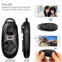 VR Virtual Reality 3D Glasses + Bluetooth Remote Control Gamepad