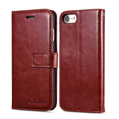 Case voor iPhone 7 / 7 Plus Wallet Flip Leather With Stand Phone Bag Cover For Apple iPhone 7 Plus Cases