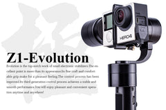 Zhiyun Z1 Handheld Stabiliseer Gimbal for GoPro Hero 4 3 XiaoYi SJ4000 5000 Camera Z1