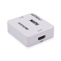 Mini Composite HD AV to HDMI Adapter Converter