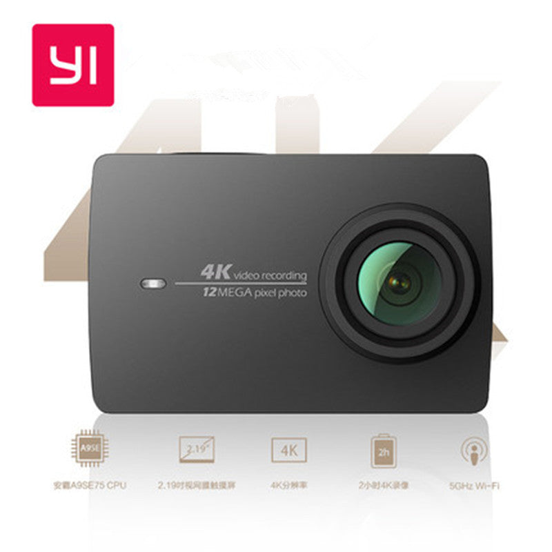Xiaomi YI 4K Action HD Camera 2 II 2.19 Retina Screen IMX377 12MP 155 Degree