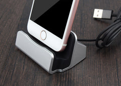Dock voor Apple iPhone 5 5S SE 6 7 6s Plus 7, Charging Dock Station Desktop Docking Charger
