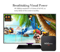 MXQ Pro Android TV Box Amlogic S905 Quad Core Android5.1 DDR3 1G HDMI 2.0 WIFI 4K 1080i/p Kodi 16.0 Full loaded add-ons
