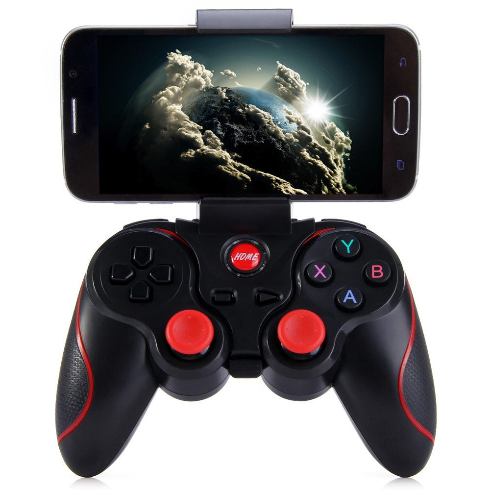 Smart Phone Game Controller Wireless Joystick T3+ Mini Bluetooth 3.0 Android Gamepad Gaming Remote C