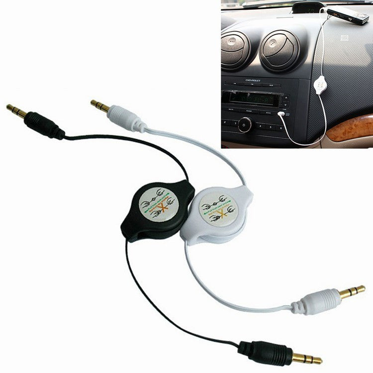 Stereo 3.5mm to 3.5 Jack Auto Audio Flexible Verleng Kabel