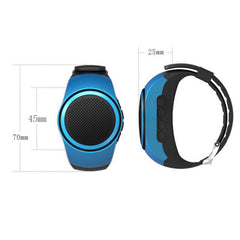 Bluetooth Sports Muziek horloge  (Speaker / TF Card / FM Audio Radio)