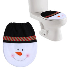 Kerst toilet covers