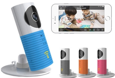 Smart WiFi security camera met night vision, hou alles in de gaten op je smartphone