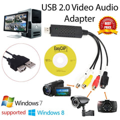 Video Capture Adaptor (VHS naar DVD, Digitale camera naar PC etc etc)