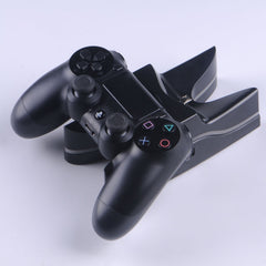 PS4 controllers dubbele oplader UFO model met LED verlichting incl USB kabel