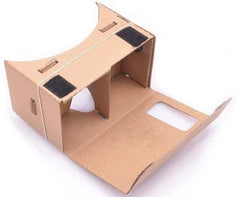 Google kartonnen virtual reality bril