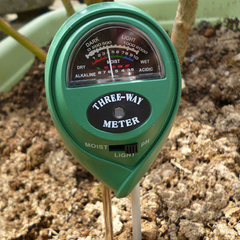 3 in 1 pH meter voor in de tuin