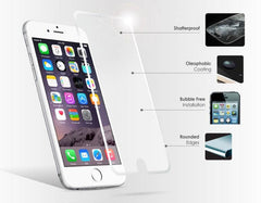 Tempered Glass screenprotector voor Iphone 4, 5, 5S, 5C, SE, 6, 6S, 6 Plus, iPhone 7, iPhone 7 Plus