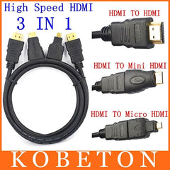 HDMI 3 in 1 HDMI (Full Hd, hoge snelheid)