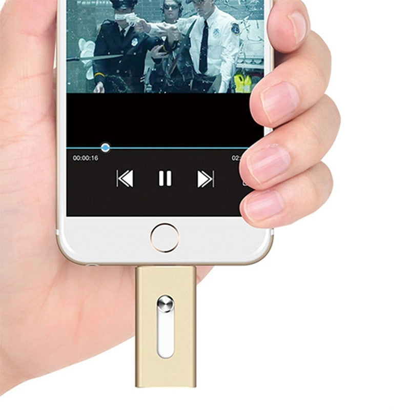 Usb flash drive voor IPhone / IPad / MAC/PC IOS (Extra opslag, diverse GB)