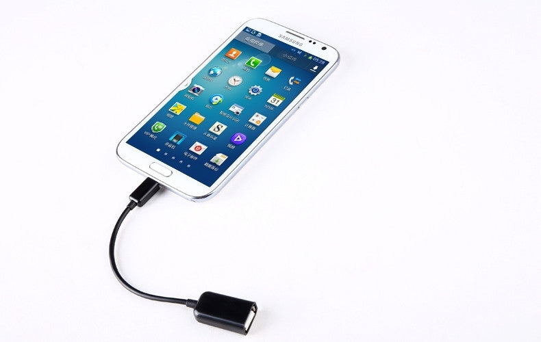 Micro USB OTG kabel voor Samsung, HTC, Android, Tablet, Sony, Mobile