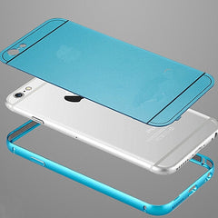 Ultra Dun Aluminium frame + achterkant cover voor een Iphone 6 of Iphone 6 plus