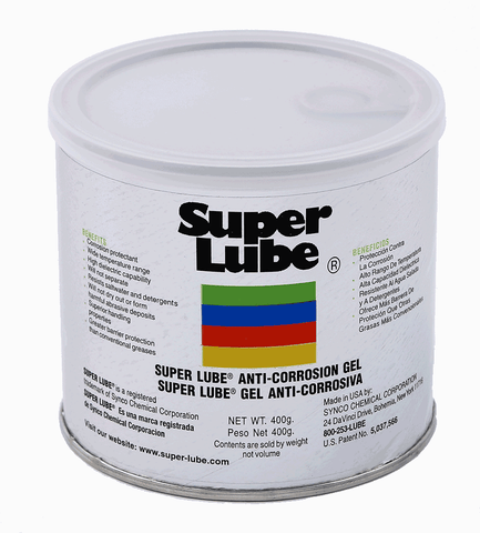 Super Lube Anti-Corrosion Gel - 400 g. Can (82016)