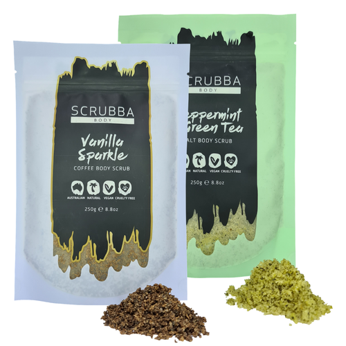 Scrubba Body Body Scrub - Twin Pack