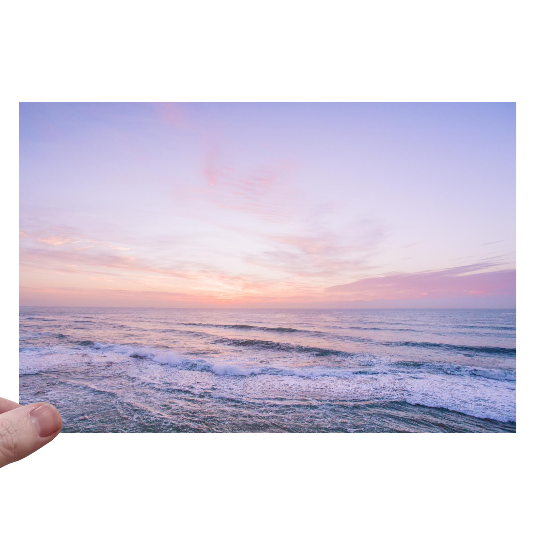 Scrubba Body Newcastle Sunrise Blank Greeting Card