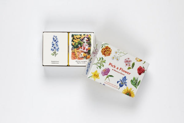 Pick A Flower Memory Game