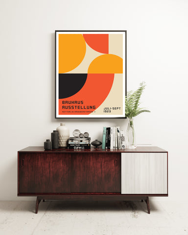 Bauhaus Exhibition Poster