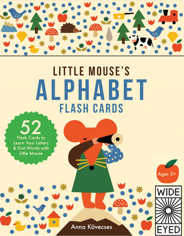 LITTLE MOUSES ALPHABET FLASHCARDS (ONE THOUSAND THINGS)